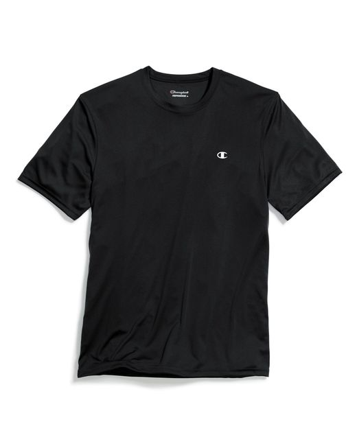 Champion - Black Double Dry® Tee for Men - Lyst