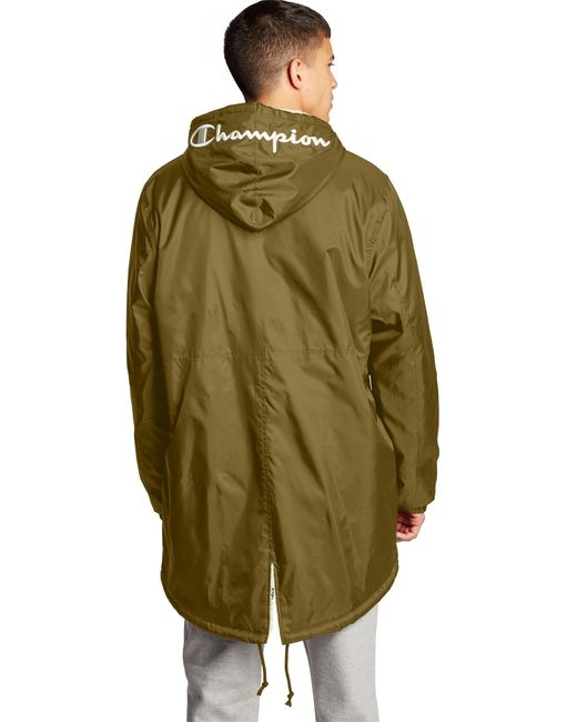 Champion Life Sherpa-lined Stadium Jacket in Green for Men ...