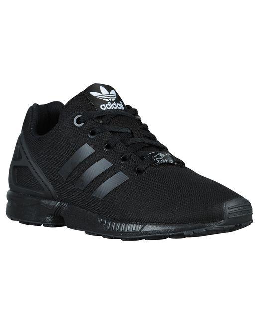 on sale acd36 58504 Men's Black Zx Flux Running Shoes