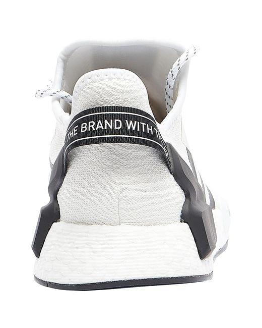 Adidas Nmd R1 V2 Shoe Size 41 Cloud White Eur 10