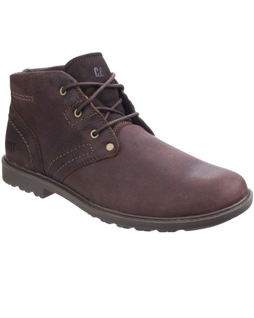 Caterpillar - Multicolor Carsen Mid Pebble Mens Lace-up Boot for Men - Lyst