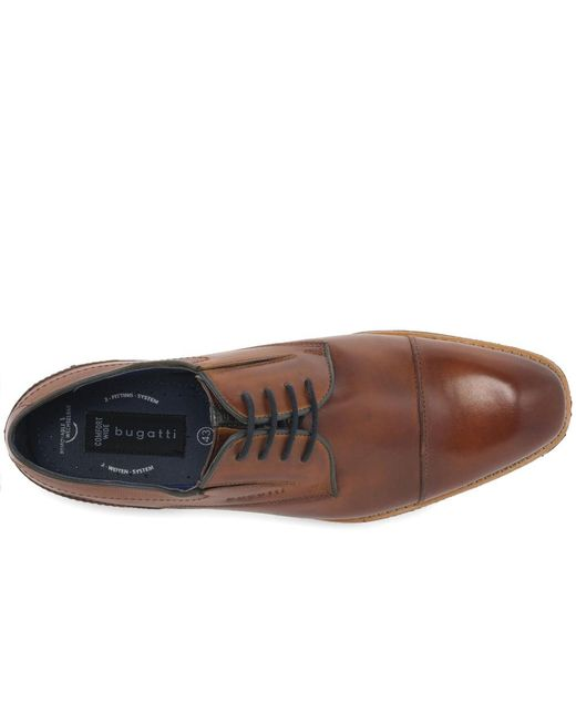 a4d1011750f1 ... Bugatti - Brown Ibis Mens Casual Lace Up Shoes for Men - Lyst ...