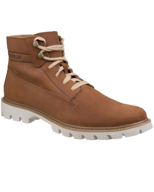Caterpillar - Brown Basis Mens Lace-up Boots for Men - Lyst