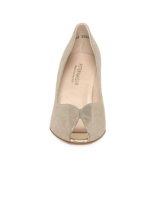 online retailer 75fa1 92aaf Peter Kaiser Sanna Womens Peep Toe Court Shoes - Save 32% - Lyst