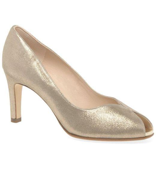 best service 26082 7e912 Sanna Womens Peep Toe Court Shoes