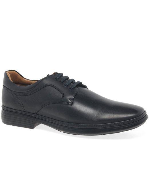 Anatomic & Co Black Men's Leather 'cardle' Lace Up Shoes for men
