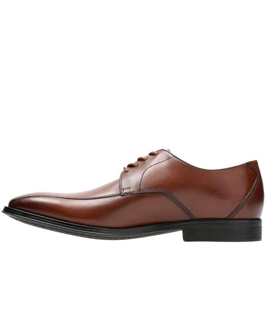 9c040dbe37b87 ... Clarks - Brown Gilman Mode Mens Leather Derby Lace-up Shoes for Men -  Lyst ...