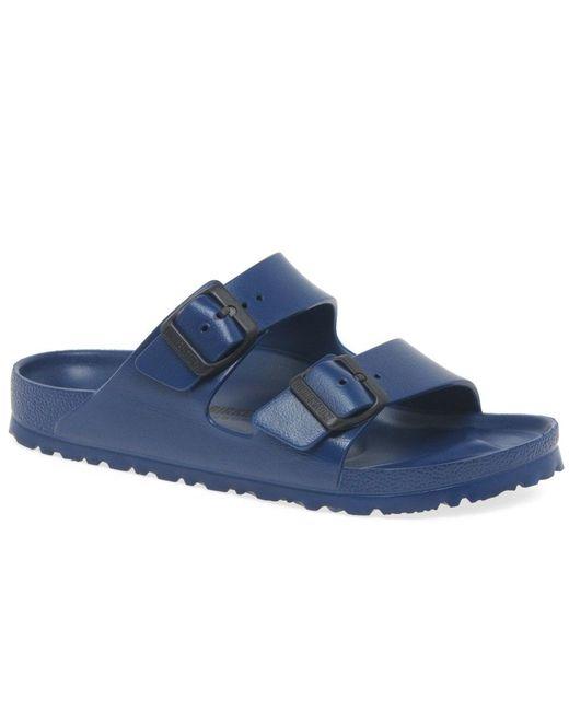 Birkenstock Blue Arizona Eva Womens Sandals