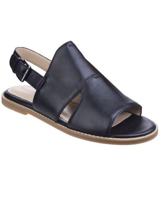 Hush Puppies   Black Adiron Chrissie Womens Flat Sandals   Lyst