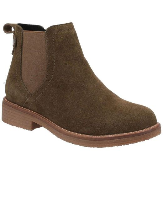 Hush Puppies Brown Maddy Womens Chelsea Boots