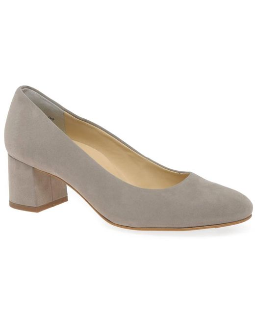 Paul Green   Gray Soothe Womens Dress Court Shoes   Lyst