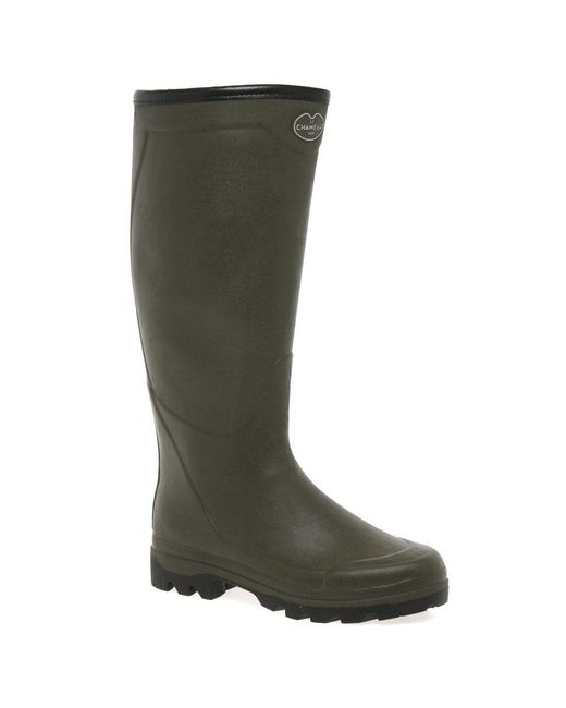 Le Chameau Green Country Jersey Xl Mens Wellingtons for men