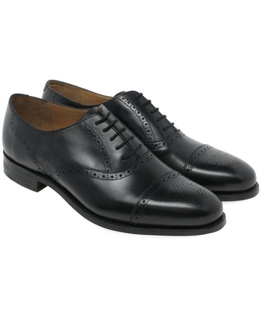 94daa786021df ... Barker - Black Gatwick Mens Formal Lace Up Shoes for Men - Lyst ...