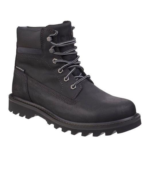 Caterpillar - Black Deplete Waterproof Mens Lace-up Boot for Men - Lyst