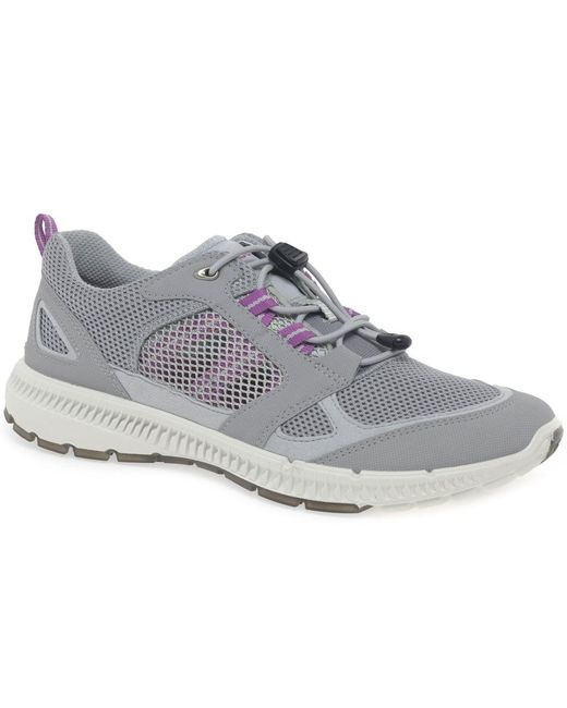 Ecco - Gray Terra Cruise Womens Sports Trainers - Lyst