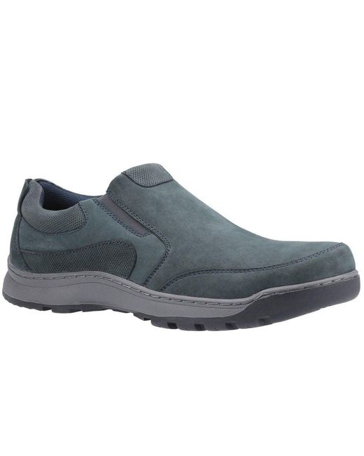 Hush Puppies Blue Jasper Mens Slip On Trainer Size: 6 for men
