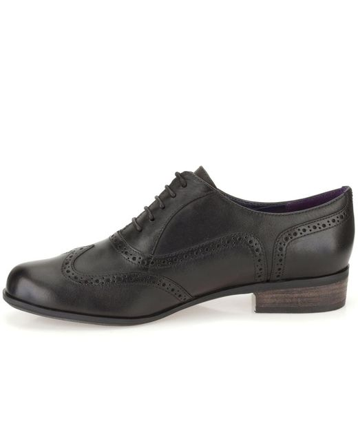 Lyst Clarks Hamble Oak Womens Narrow Casual Shoes In Black