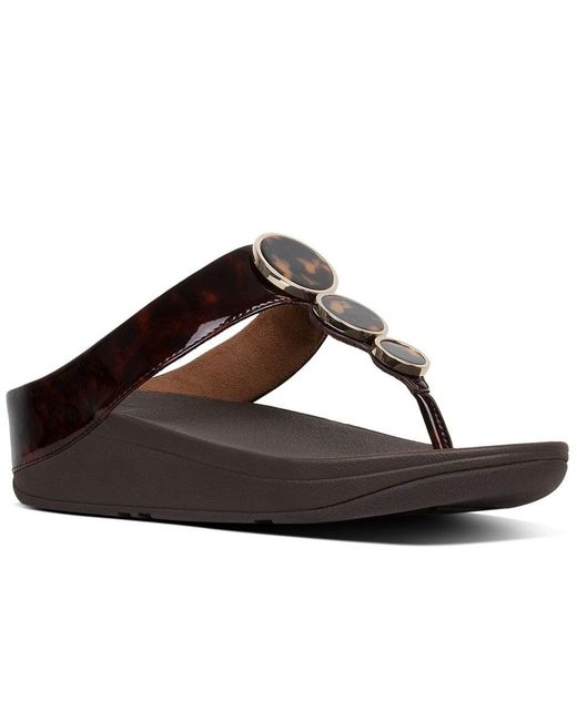4398d83ac899 Lyst - Fitflop Halo in Brown - Save 22%
