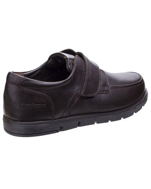 Mens Velcro Shoes Hush Puppies