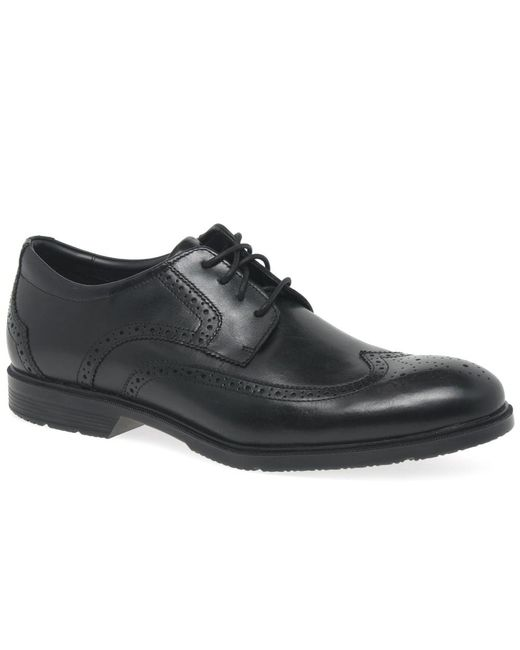 Rockport Total Wing Tip Mens Shoes