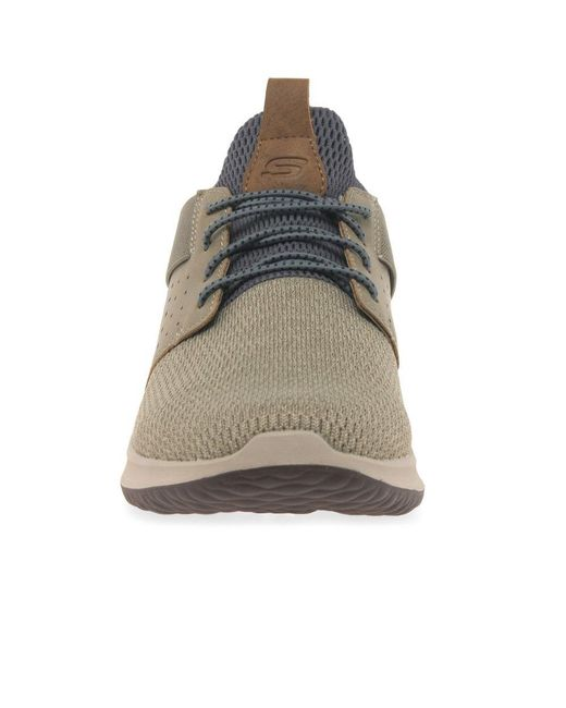 facultativo lección Becks  Skechers Delson Camben Mens Casual Sports Trainers for Men - Lyst