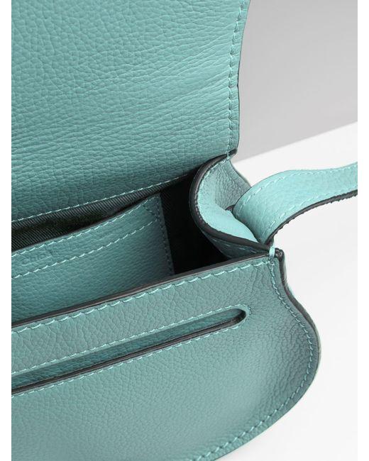 Chloé Blue Mini Marcie Bag