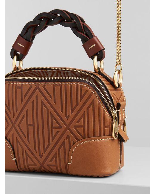 Mini sac Daria Chloé en coloris Brown