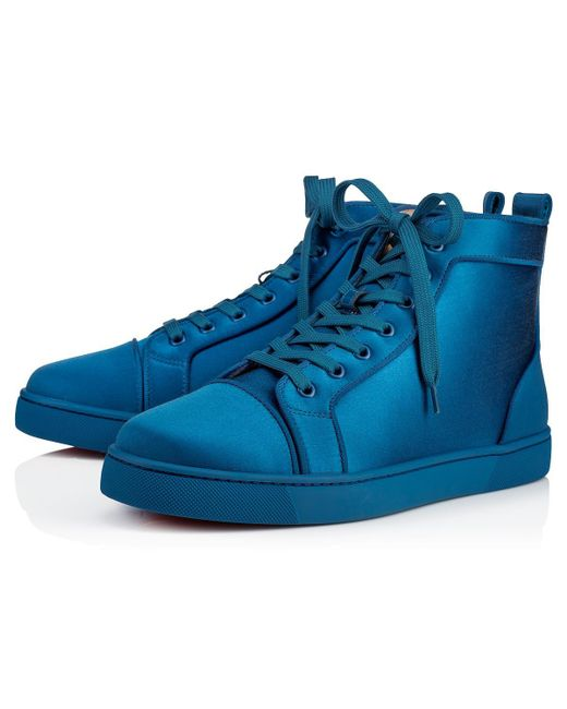 Christian Louboutin - Blue Louis Orlato Men's Flat for Men - Lyst