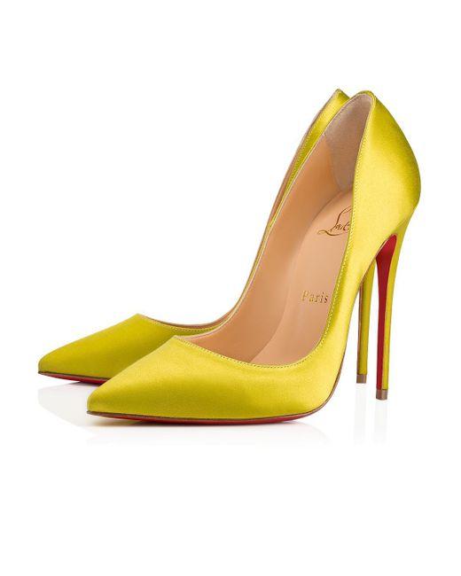 Christian Louboutin - Yellow So Kate - Lyst