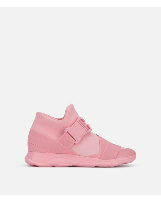Christopher Kane - Pink Safety Buckle Sneakers - Lyst