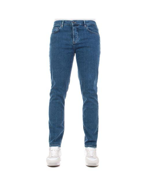 Lyle & Scott Blue Slim Fit Jeans for men