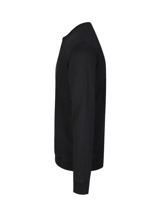 Valentino Black Vltn Crew Neck Sweatshirt for men