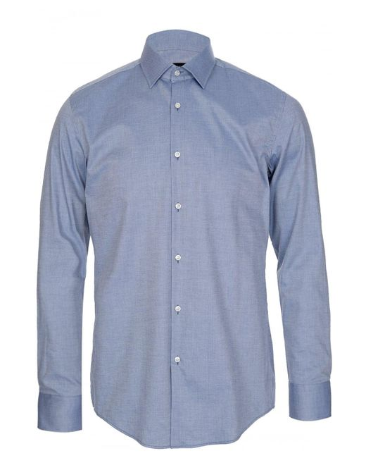 BOSS Hugo 'jenno' Slim-fit Shirt Blue for men