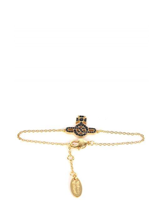Vivienne Westwood Metallic Infinity Orb Bracelet