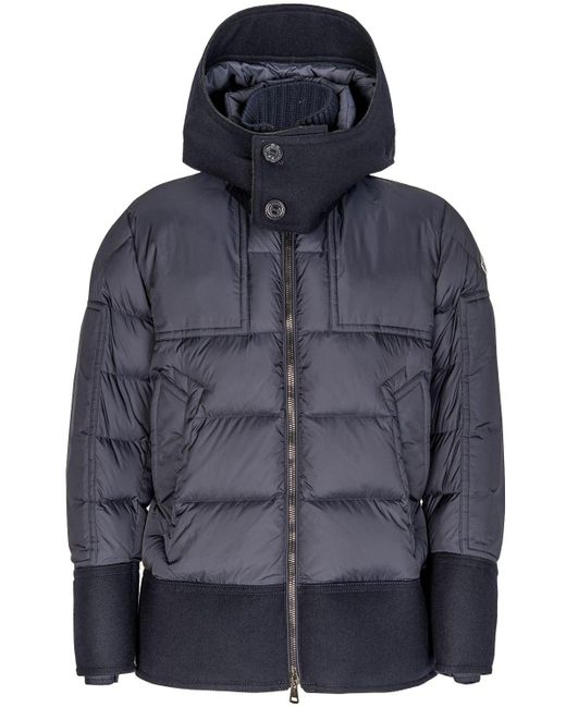 e1099667b Moncler Dominique Quilted Down Jacket Navy in Blue for Men - Lyst
