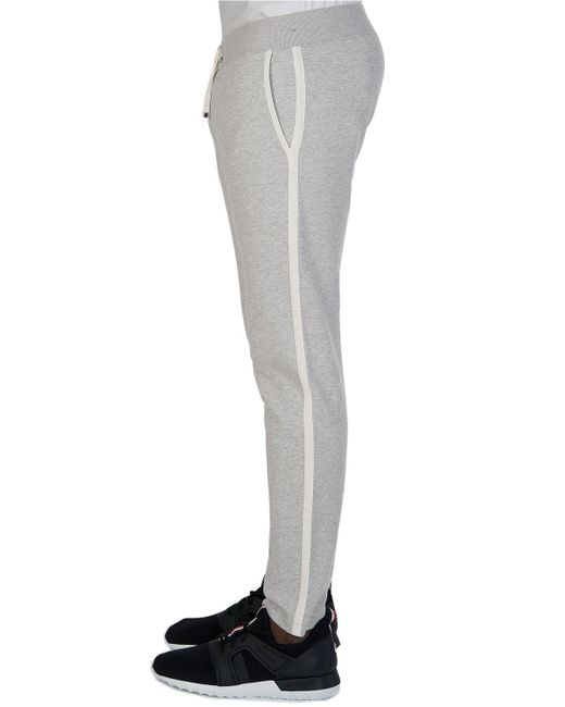 b6257b9a1a42 Moncler Women s Combination Joggers Grey in Gray for Men - Lyst