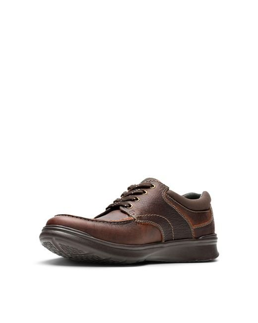 Clarks Leather Cotrell Edge Casual Oxford Shoes in Brown for