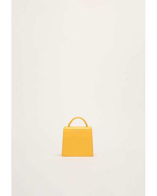 Le mini sac aux allures de grand Claudie Pierlot en coloris Multicolor