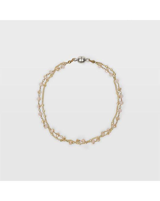 Club Monaco | Pink Sparkle Bracelet | Lyst