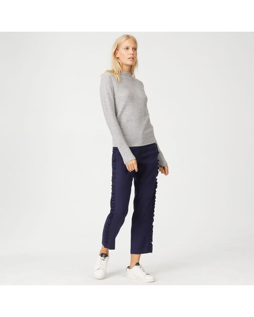 Club Monaco | Gray Tommie Merino Sweater | Lyst