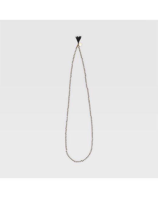 Club Monaco - Black Long Bibi Necklace - Lyst