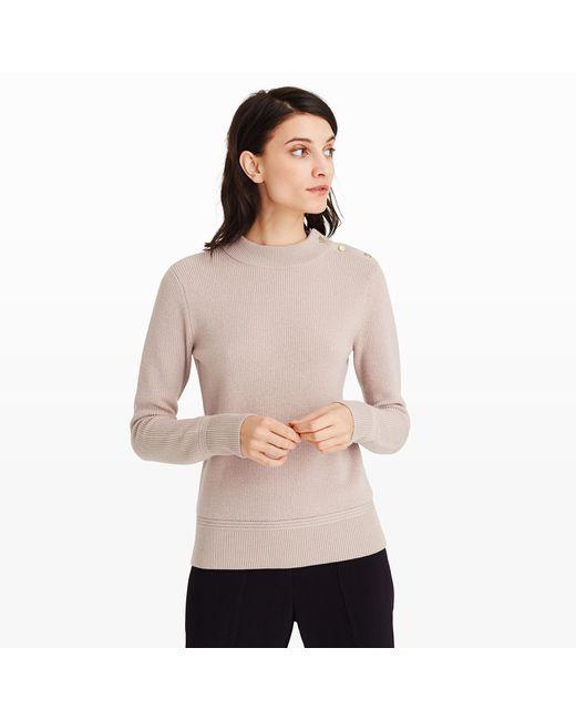 Club Monaco - Gray Starana Sweater - Lyst