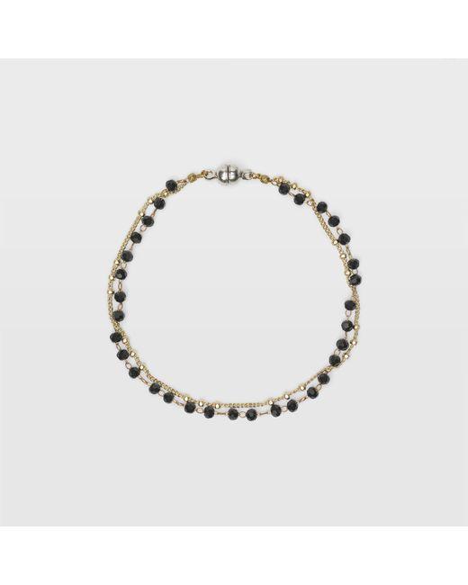 Club Monaco - Black Sparkle Bracelet - Lyst