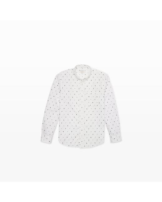 Club Monaco | White Slim-fit Bd Nautical Shirt for Men | Lyst