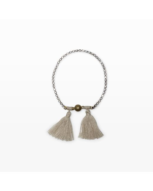 Club Monaco   Gray Sparkle Bracelet   Lyst