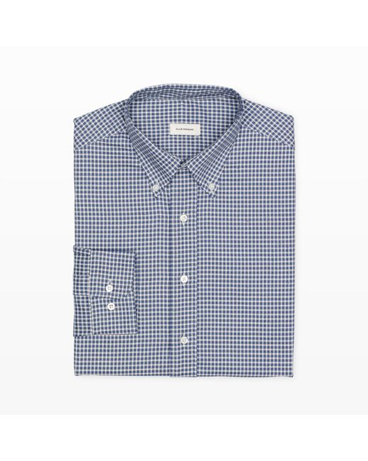 Club Monaco   Blue Made In The Usa Dress Shirt for Men   Lyst