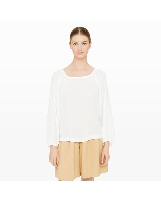 Club Monaco | White Bryda Top | Lyst