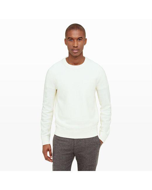 Club Monaco | Natural Merino Twill Sweater for Men | Lyst