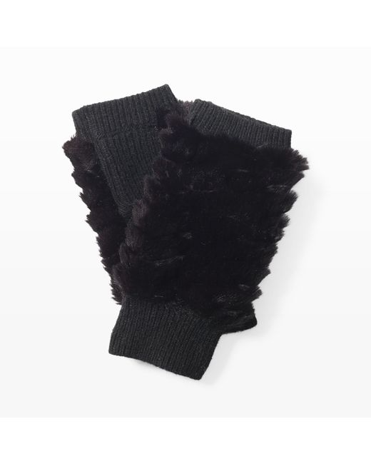 Club Monaco | Black Feesha Textured Glove | Lyst