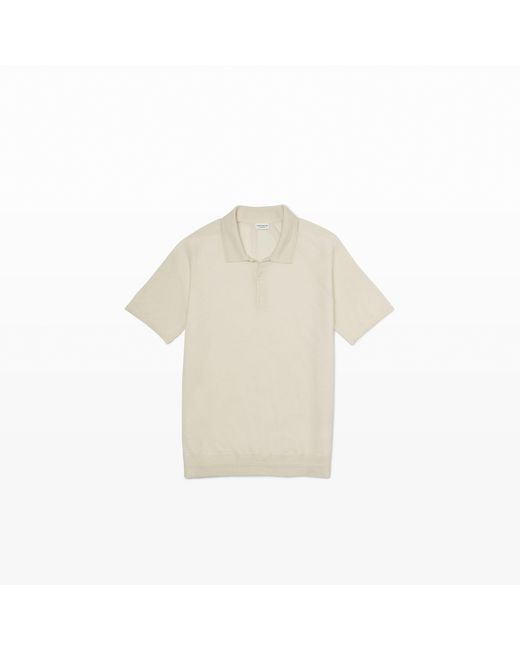 Club Monaco | Natural Lightweight Cashmere Polo for Men | Lyst